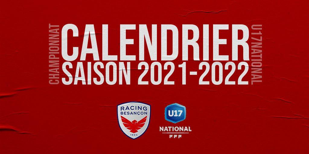 Slide Calendrier Championnat U17N
