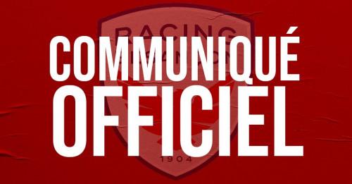 COMMUNIQUE OFFICIEL