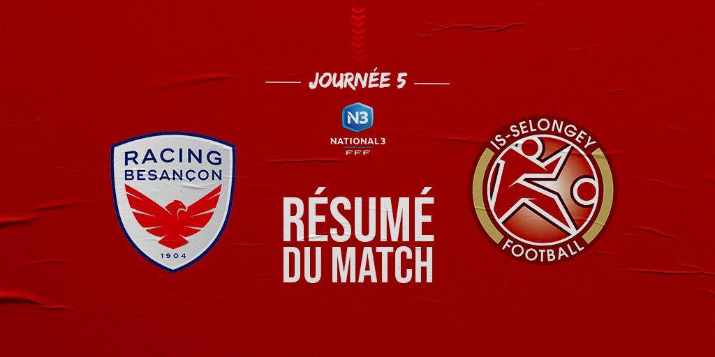 Recap Match Championnat J5