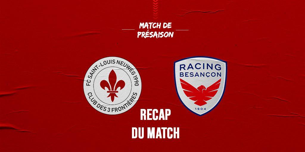 Recap Match Présaison St Louis