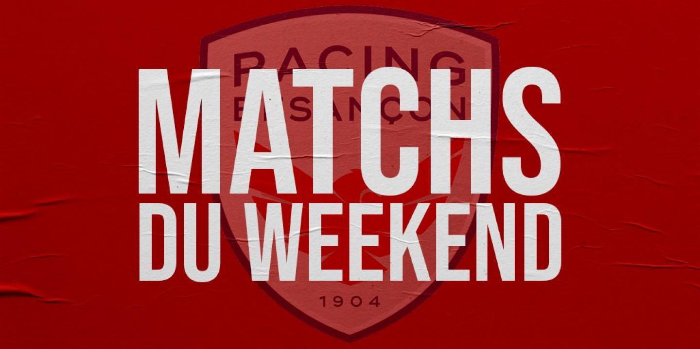 Matchs Du Weekend