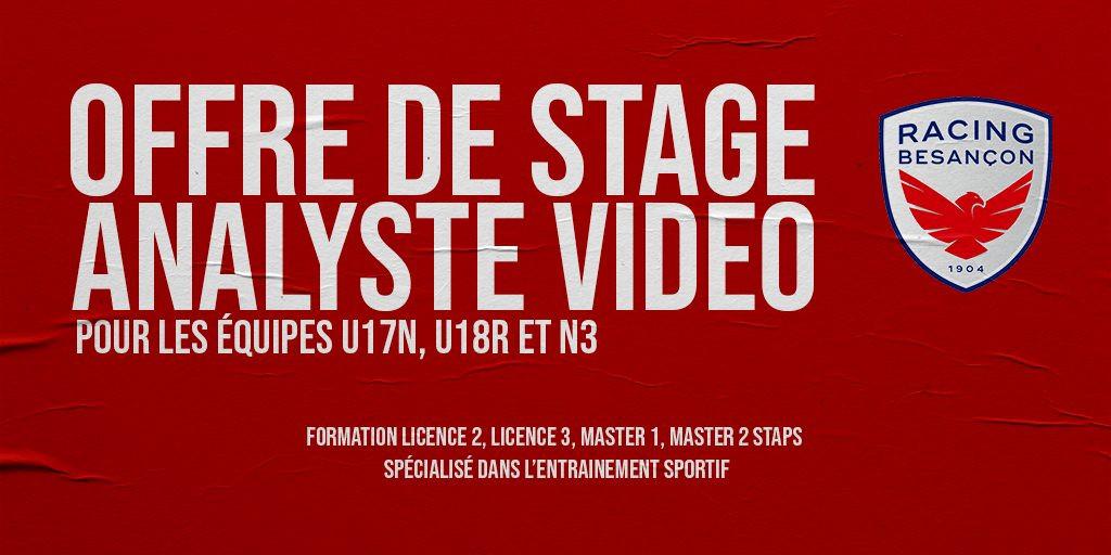 Offre De Stage Analyste Vidéo