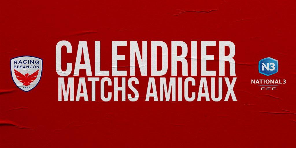 Matchs Amicaux Slide Twitter