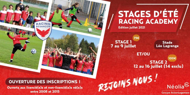Racing Academy Site Et FB